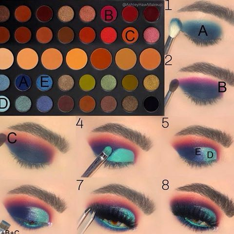 which conspiracy palette look is your fav 123 or 4