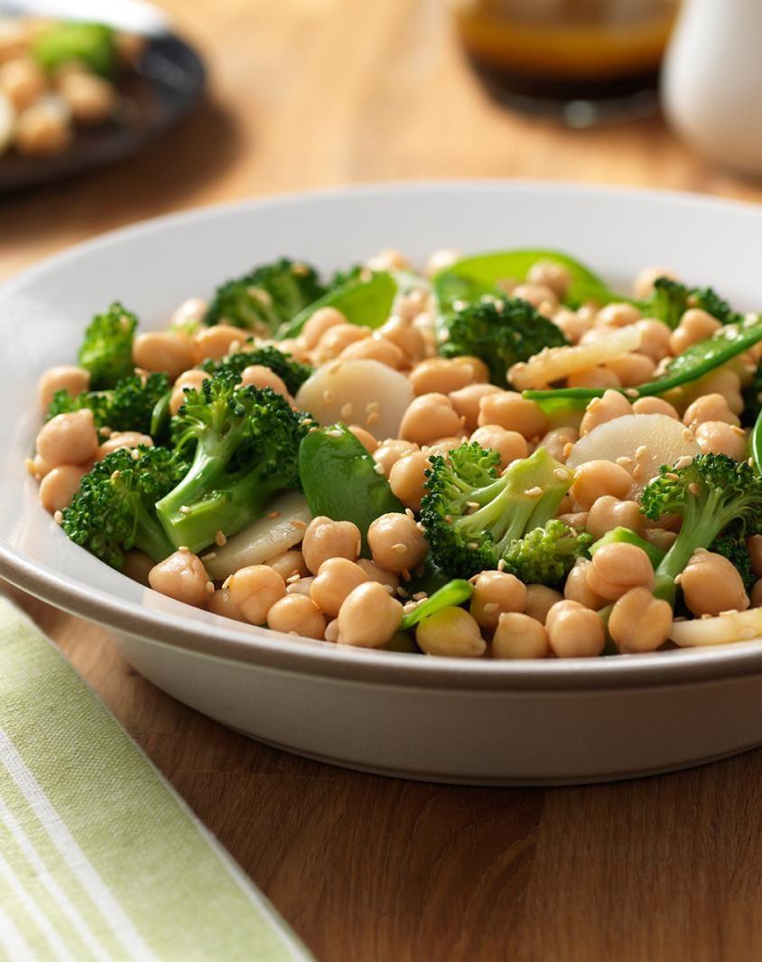 Asian Garbanzo Bean Salad