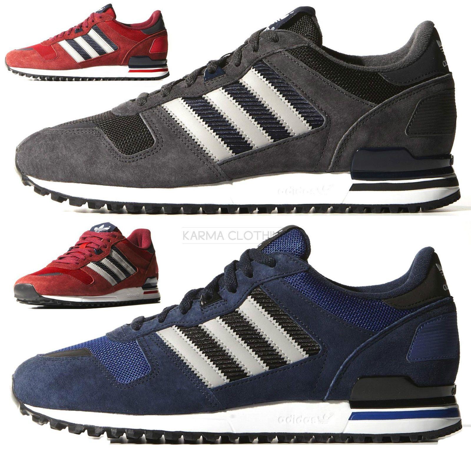 nuove adidas originali mens zx700 zx750 scarpe da corsa formatori confezioni