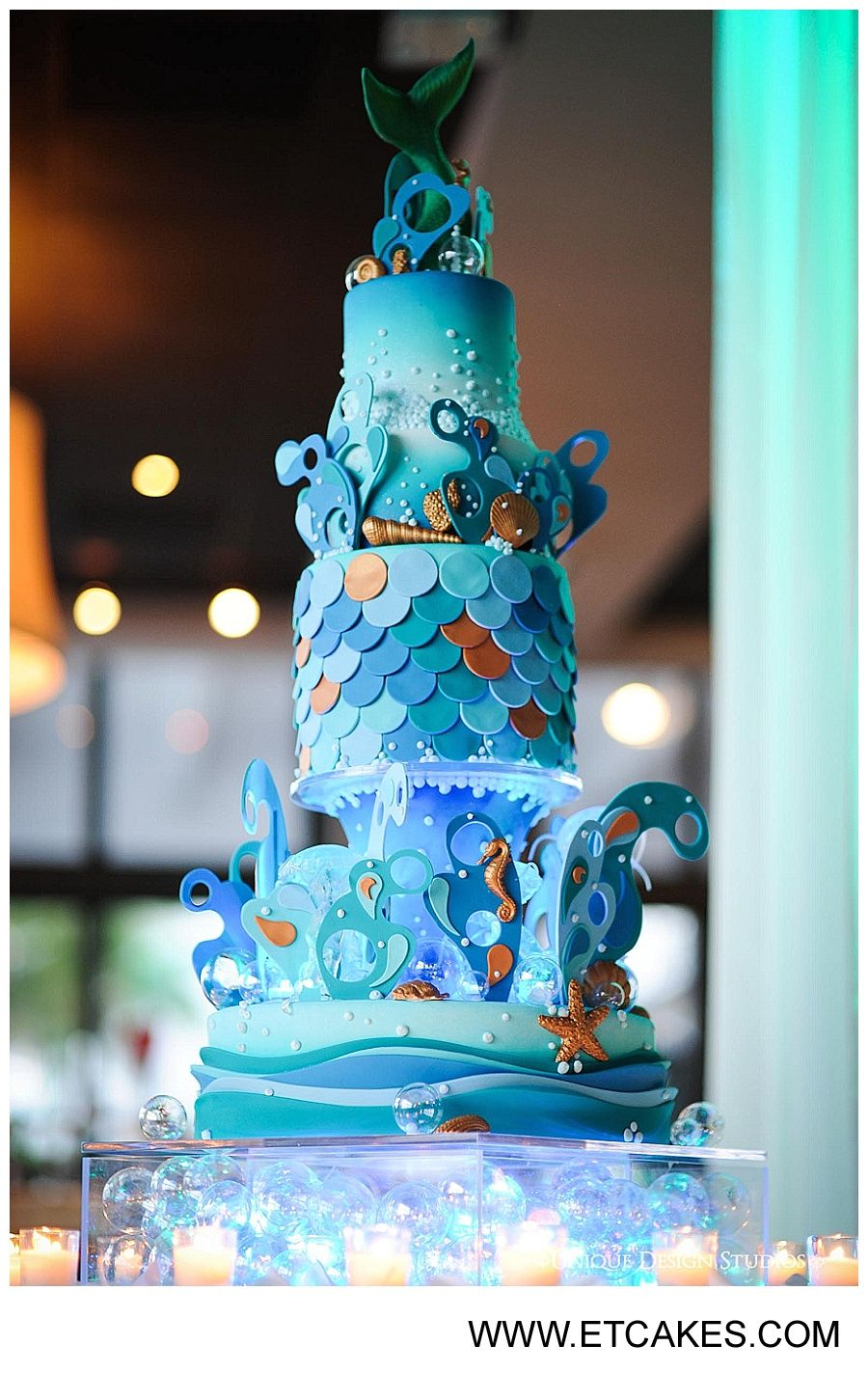 Gabys Under the Sea Quince Cake Miami Custom Cakes httpwww
