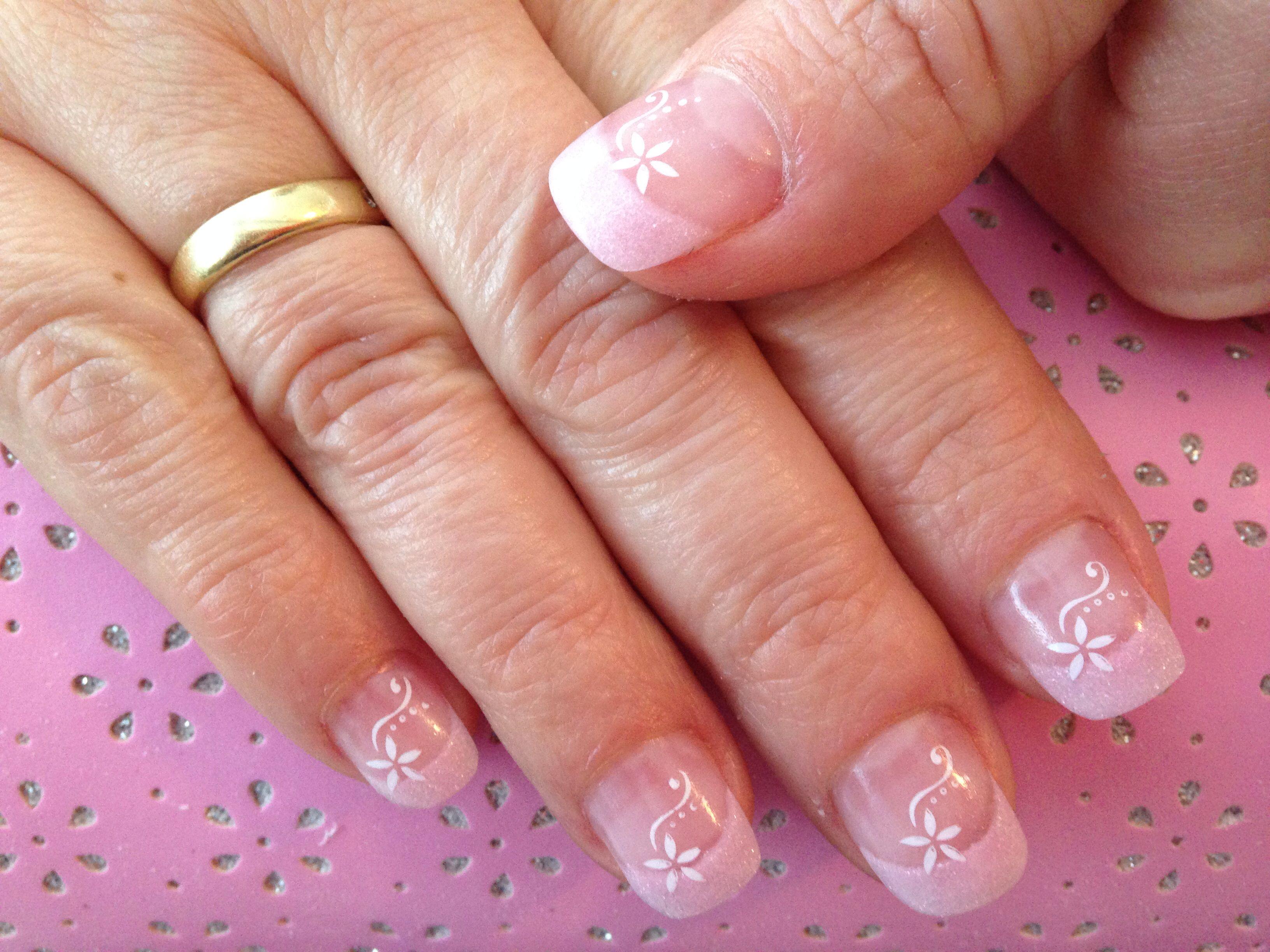 Acryl nagels met konad nail art - Nagels | Pinterest - Acryl, Nagel ...