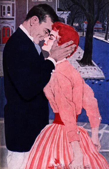 Image result for romance 1950s