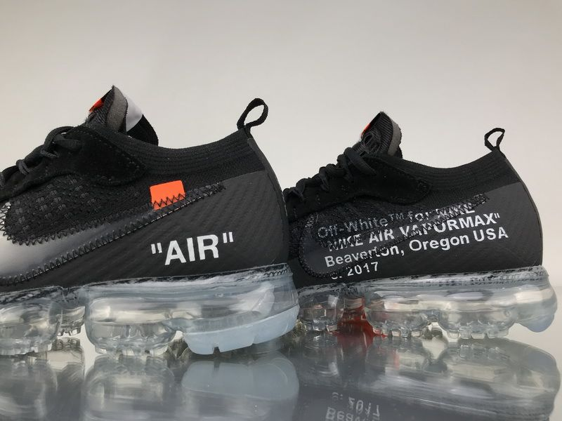 607104ab32a5e OFF-WHITE x Nike Air VaporMax 2.0 AA3831-002 Black White Sneaker6 ...