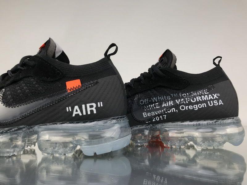 Off White X Nike Air Vapormax 2 0 Aa3831 002 Black White Sneaker6 Sneakers Men Fashion Nike Air Vapormax Fashion