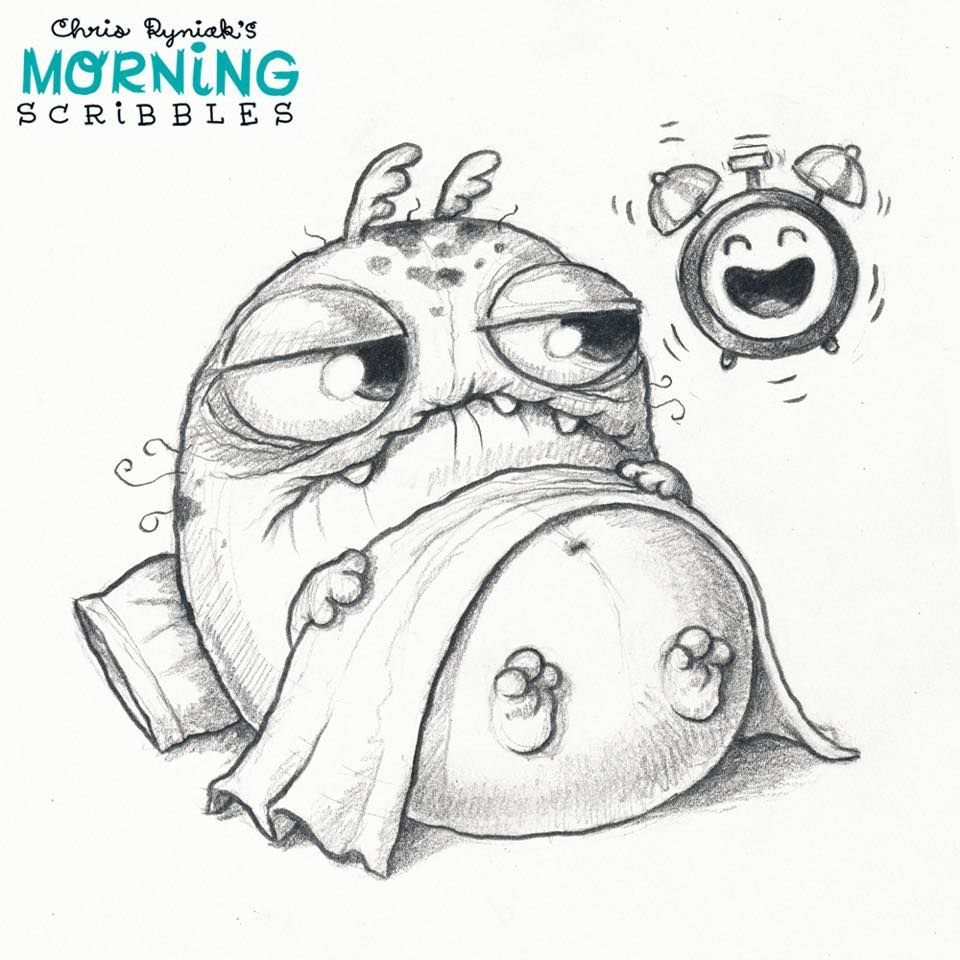 Scribbles Drawing Book : Chris ryniak morning scribbles