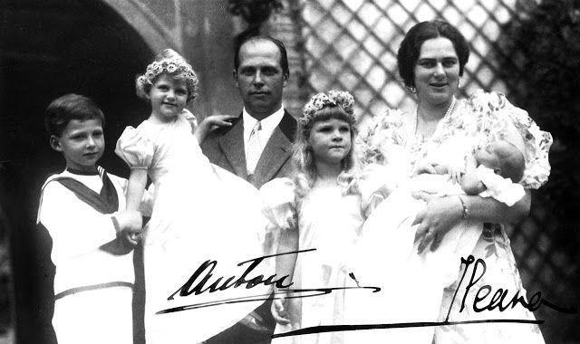 H.I.R.H. Archduke Dominic of Austria's Christening (1937)