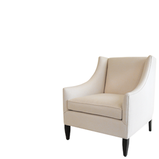 A Modern Twist On A Wing Chair   Sarah Richardson Harry Chair
