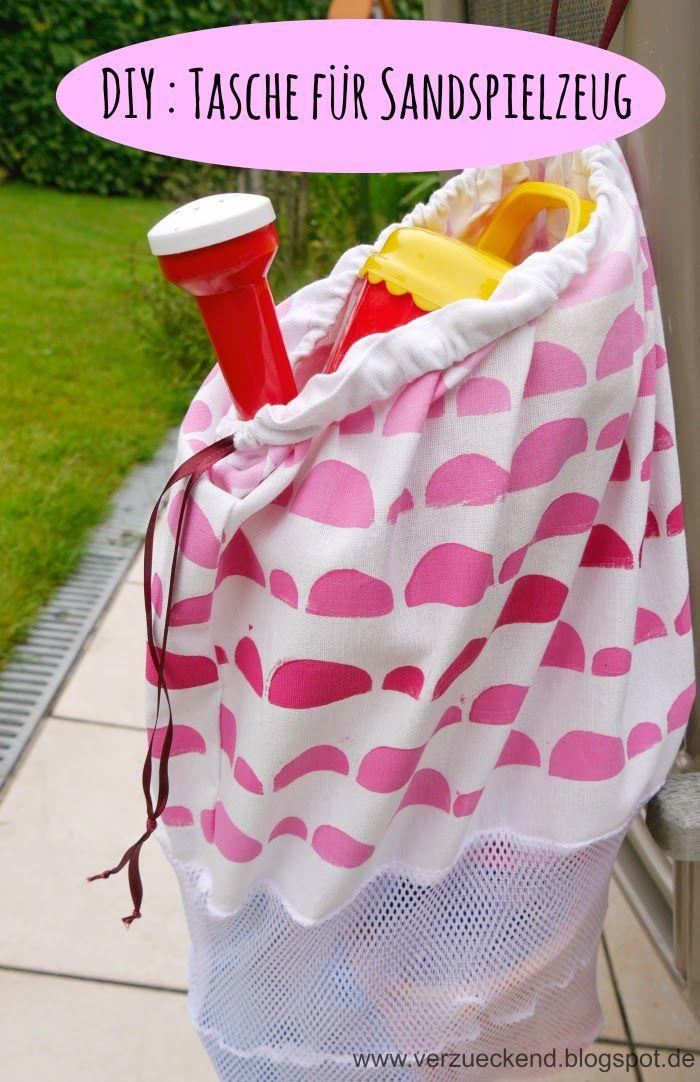 DIY Tasche für Sandspielzeug I verzueckend | Freebook\'s Taschen ...