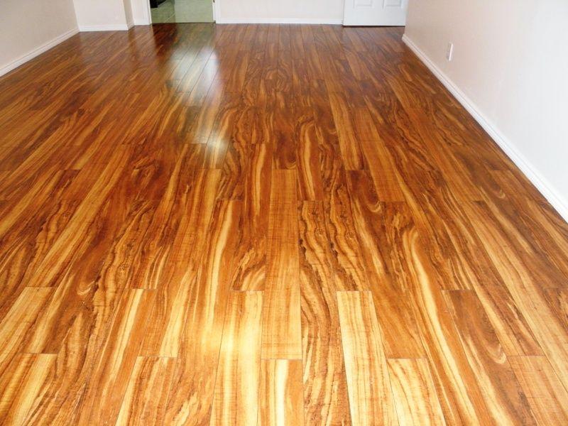 Fake Flooring koa flooring fake kine, probably laminate. pergo makes a