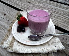 Words Of Deliciousness: Strawberry Blueberry Banana Smoothie