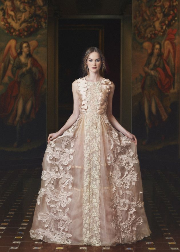 Awesome Marco And Maria Ribbon Embellished Dress From Morgan Davies Bridal In Hitchin