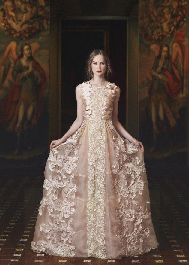 Marco and Maria ribbon embellished dress, from £2,000 (Morgan-Davies ...