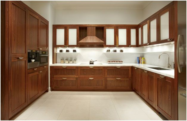 Amazing Ideas To Use Wood In Your Contemporary Kitchen  Kitchen Gorgeous How To Design A Modular Kitchen Inspiration Design