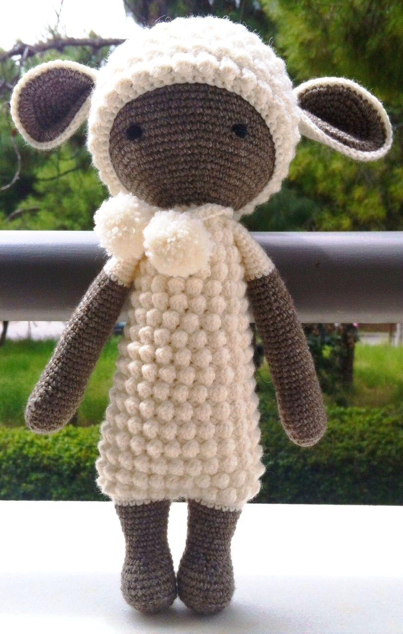 LUPO the lamb made by Katarina M. / crochet pattern by lalylala