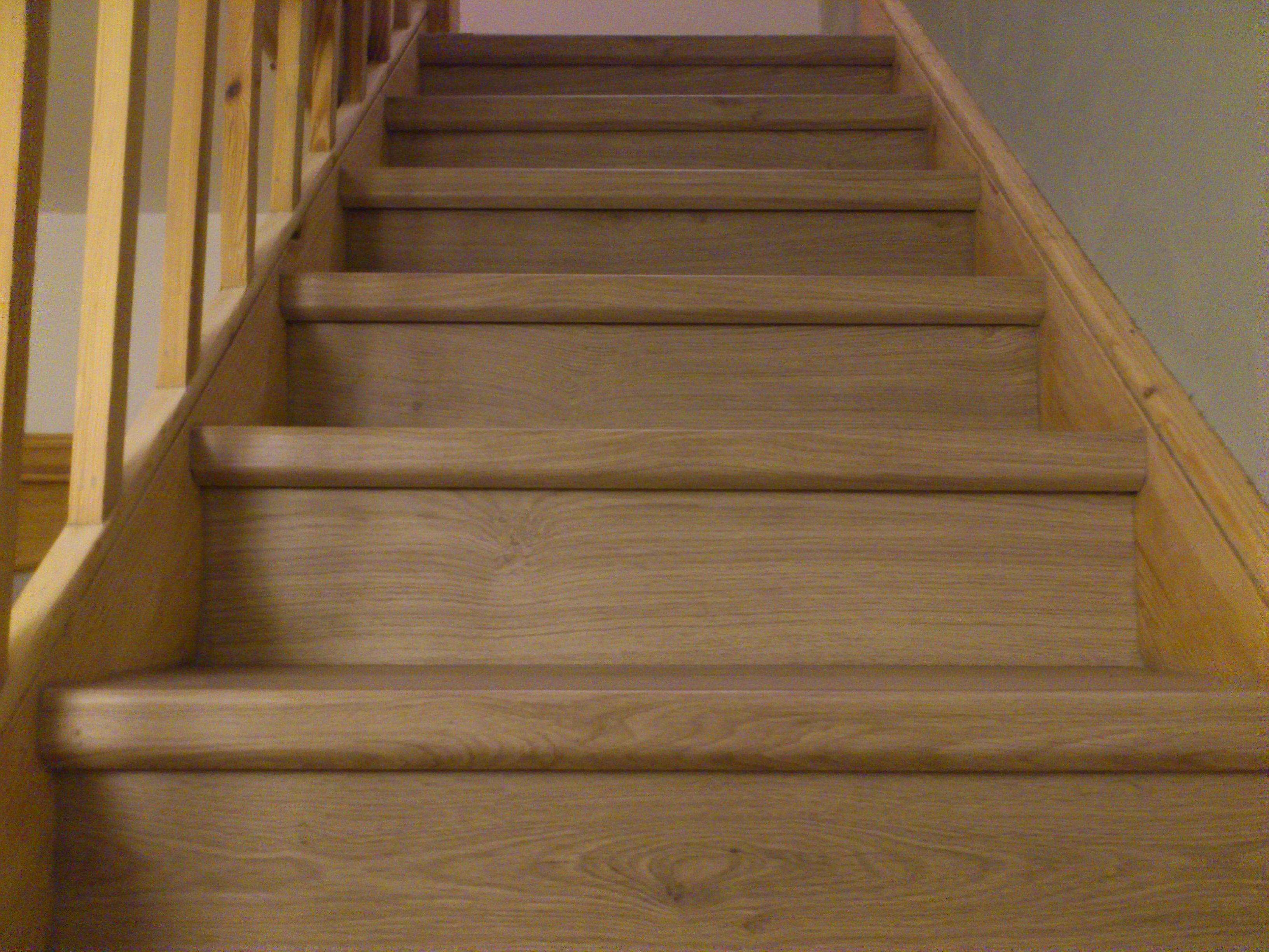 QuickStep laminate flooring on stairs Dublin , Ireland