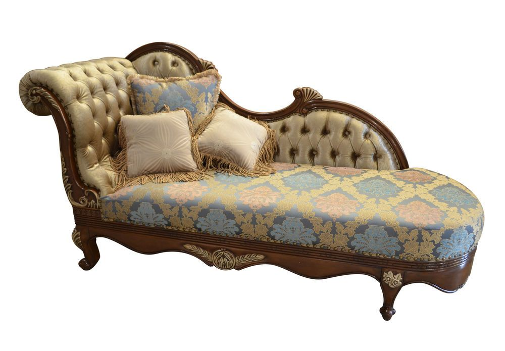 Chaise Lounge Fainting Couch French Provincial Sofa Settee 89 X 46 5 H Unbranded Traditional Chaise Chaise Lounge Elegant Furniture