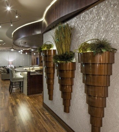 hall by Artistico http://www.houzz.com/photos/2685987/Condo-on-the-Riverfront-contemporary-hall-omaha