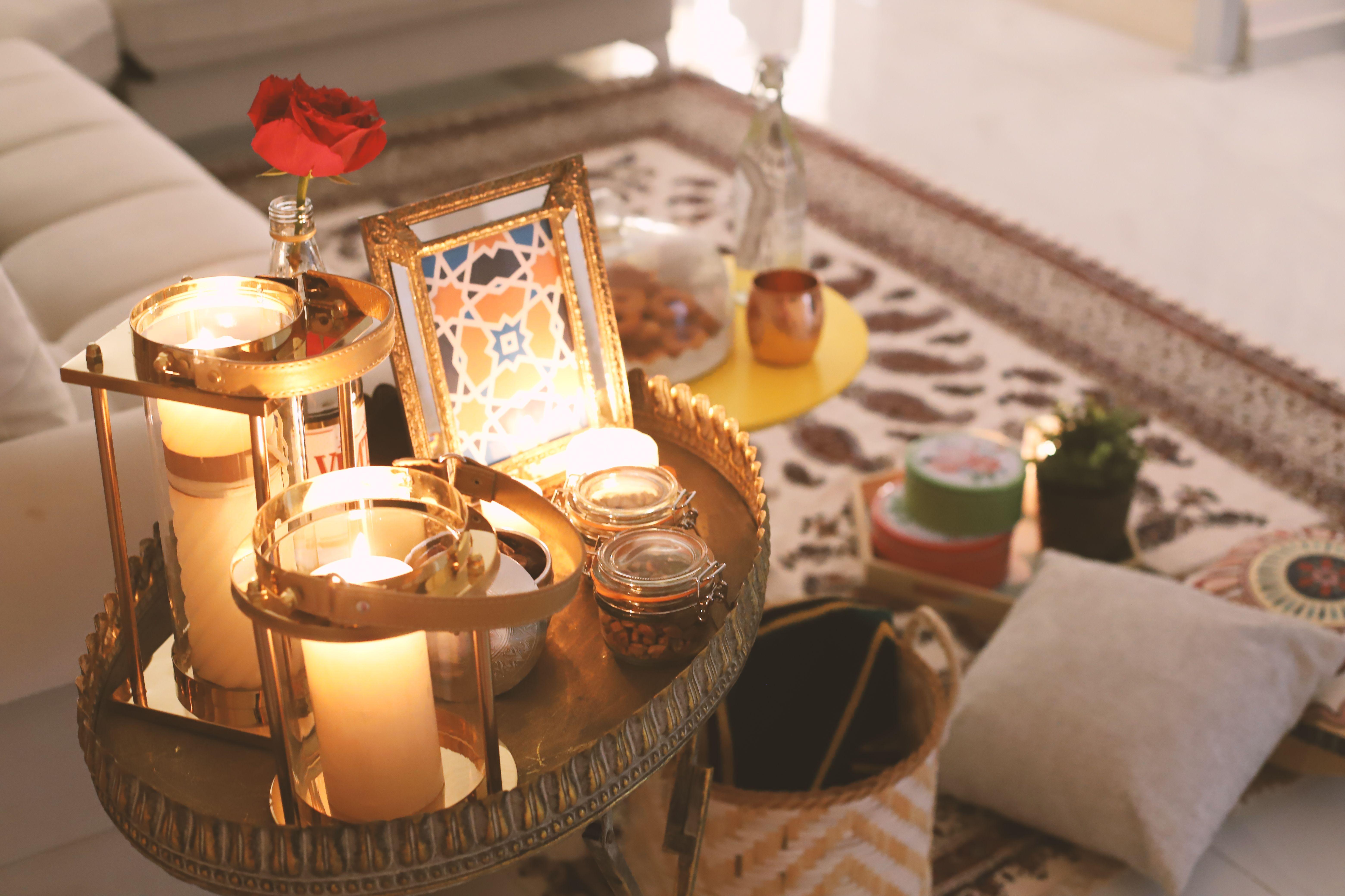رمضان جلسة رمضانية سحور عمان افكار Ramadan2018 Ramadan رمضان Table Decorations Decor Ramadan