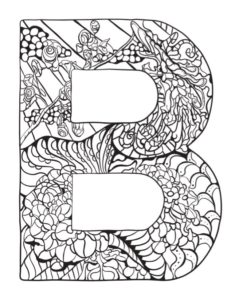 Alphabet And Inspirational Colouring Pages Free Kids Books Letter B Coloring Pages Coloring Pages Coloring Letters