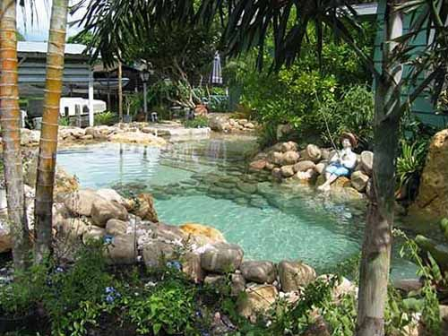 Natural Lagoon Swimming Pool By Outdoor Designer Lucas In Florida (WOW,  This Is Fantastic But Something On Similar On A Smaller Scale Would Be More  ...