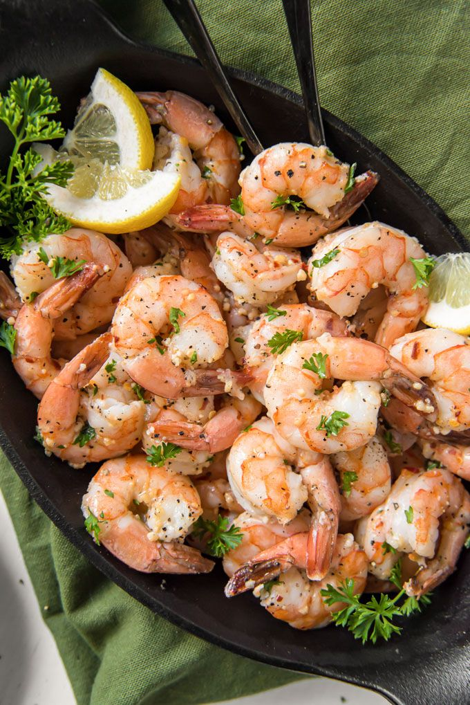 Spicy Garlic Shrimp #garlicshrimprecipes