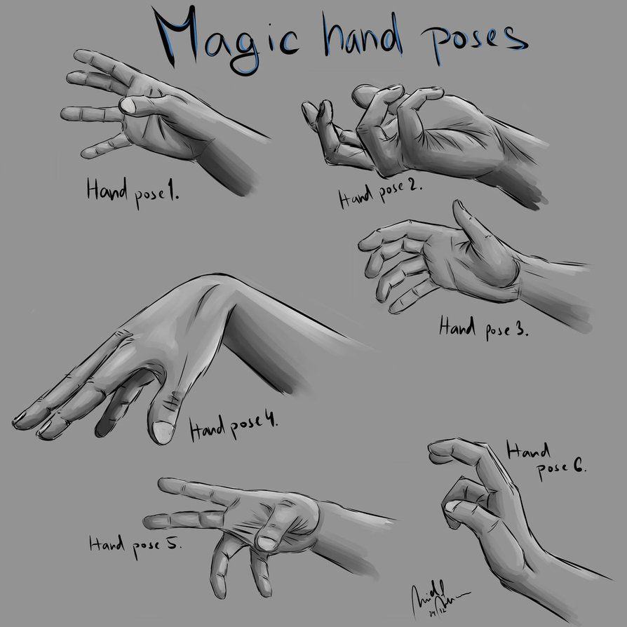 Magic Hand Poses By Wulfy88 Hand Drawing Reference Anime Poses Reference Hand Pose