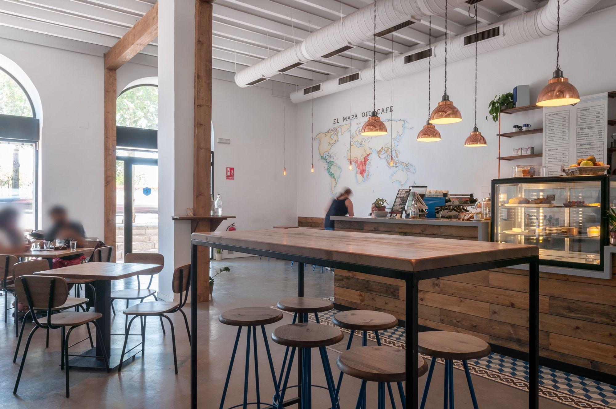 Torch coffee un nuevo establecimiento que hace del caf el mejor producto gourmet decoraci n - Muebles decoracion sevilla ...