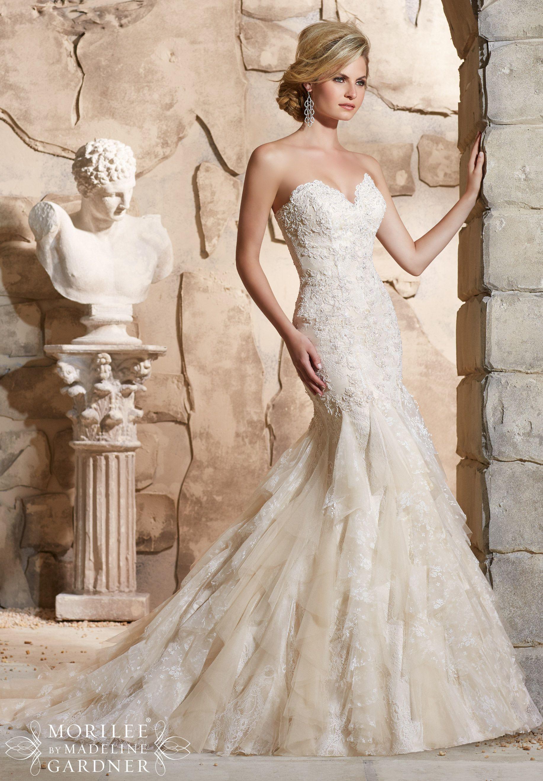 Chantilly lace wedding dress sydney