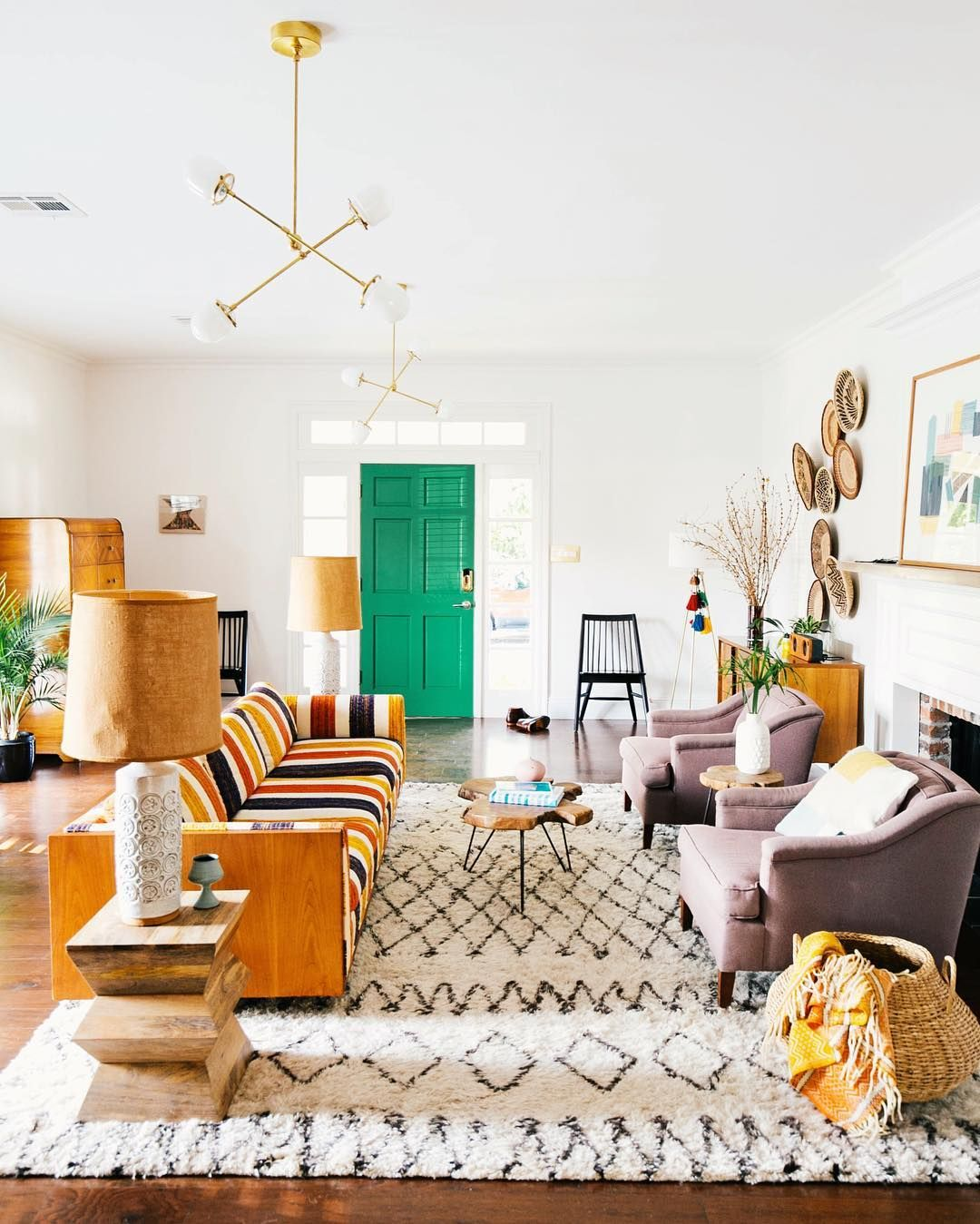 Turn Your Home Into a California Dream | Kelly green, Room decor and ...