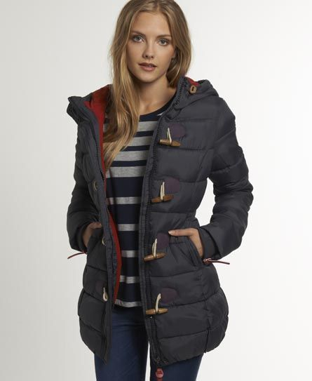 Superdry Superdry Puffle Jacket - Women's Jackets & Coats | winter ...