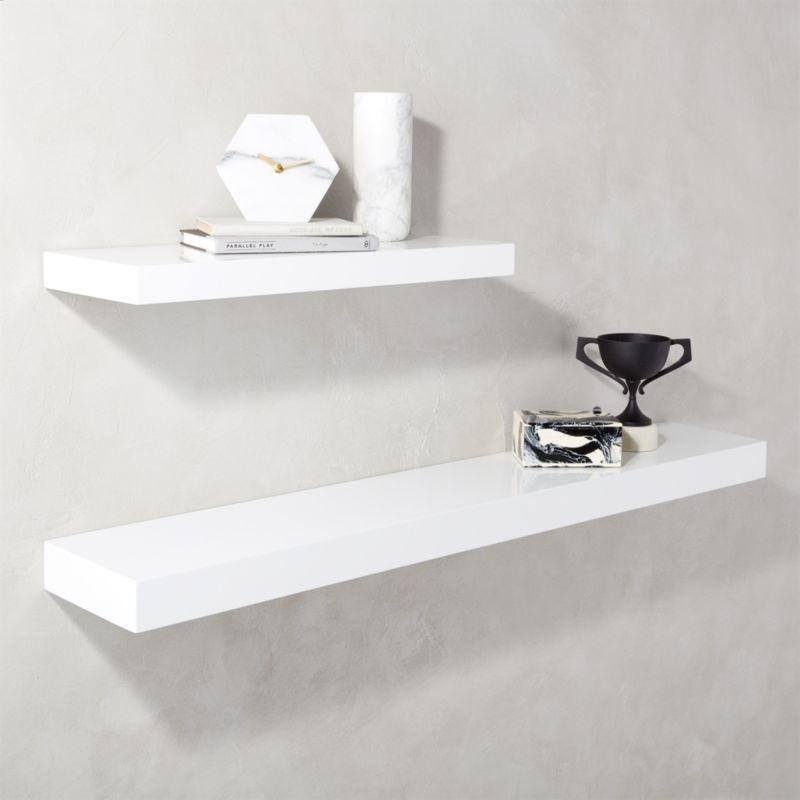 Image Result For Modern Mudroom With Animal Hooks White Floating Shelves White Wall Shelves Floating Shelves Bathroom