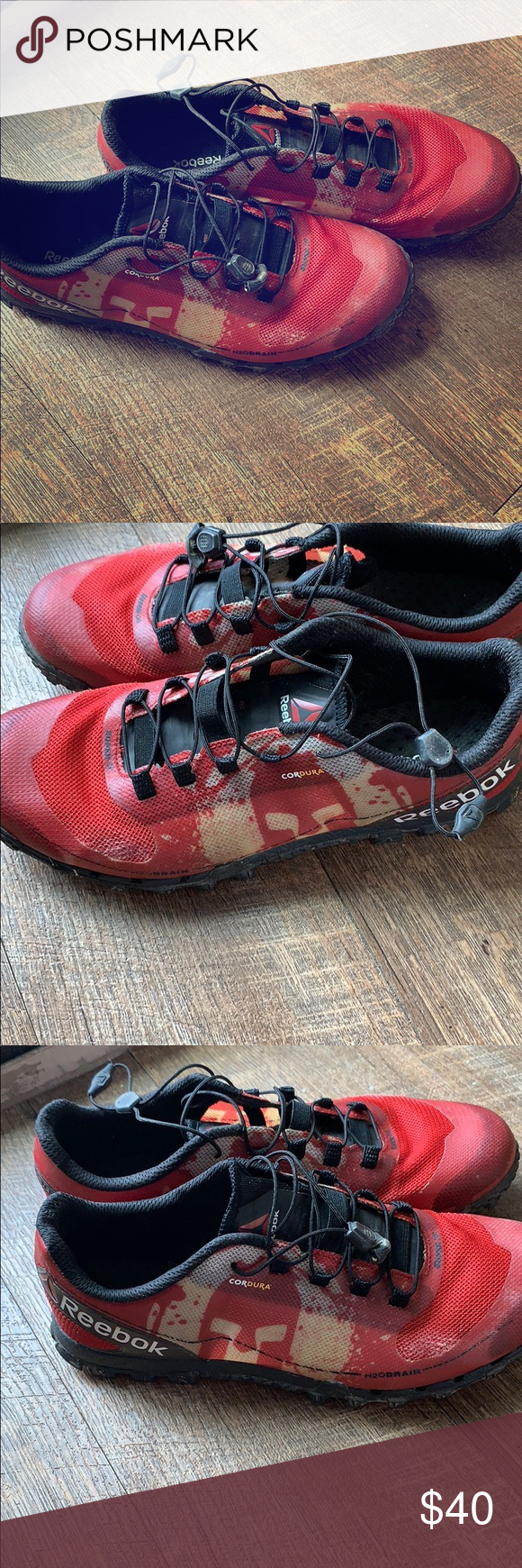 more photos c018d c2dfa Reebok all terrain superior spartan shoes Wore once for a Tough  Mudder...excellent condition. One of the best shoes for obstacle course  races and hiking.