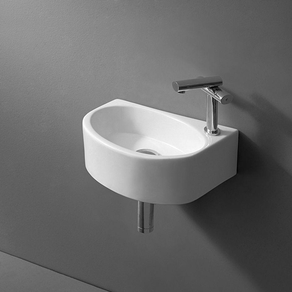 Design Waschtisch kleines Gäste Wc Handwaschbecken Bad Badezimmer ...