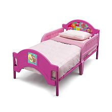 Nickelodeon Bubble Guppies Toddler Bed | Pink toddler bed ...