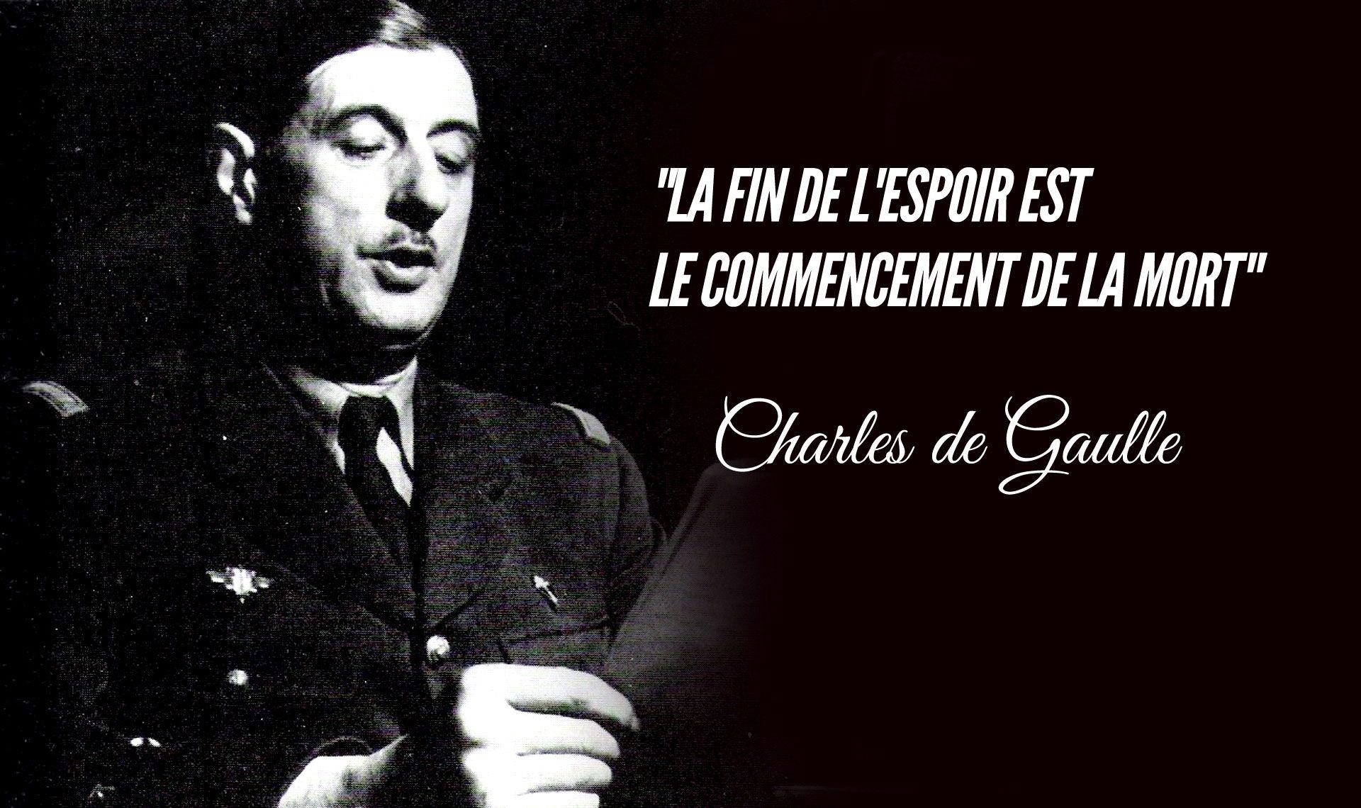 Citation De Charles De Gaulle 1890 1970 Citation De Gaulle Citation Citation Francais