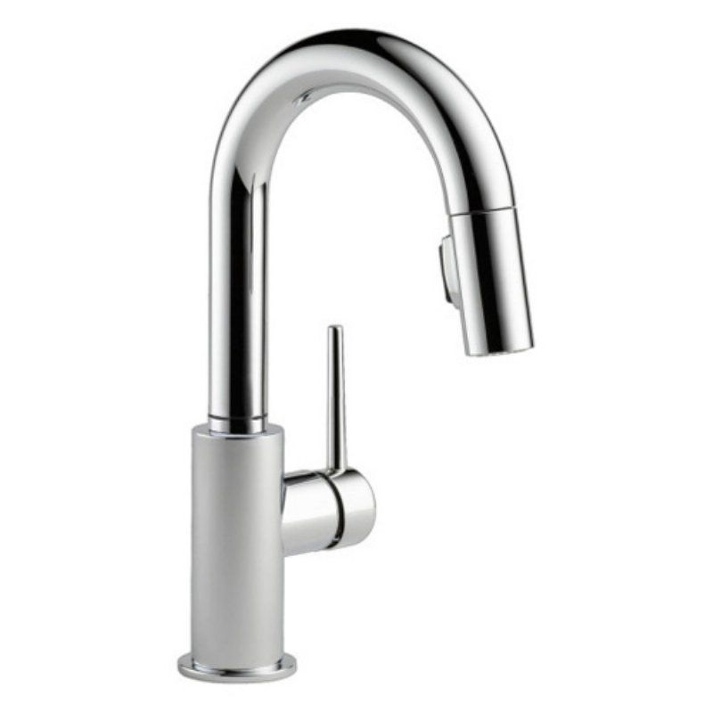 Delta Trinsic 9959 Dst Single Handle Pull Down Kitchen Faucet