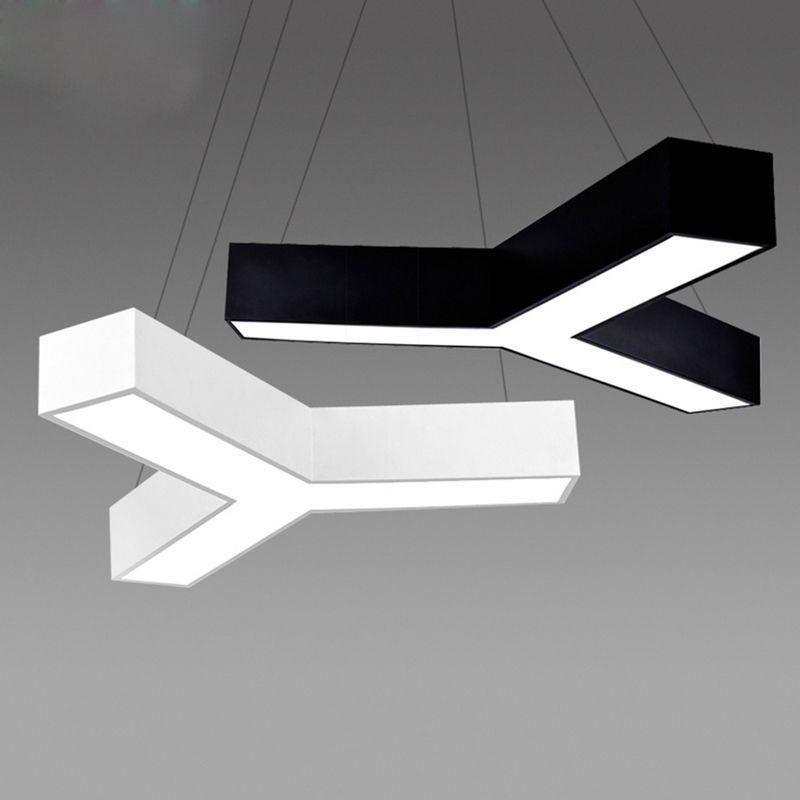 office pendant light. Modern Led Pendant Light Fixture Triangle Suspension For Dinning Room, Bedroom, Office E