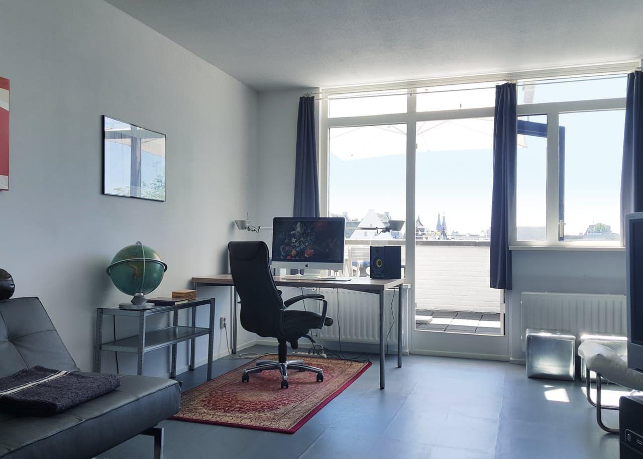 Best A Modern Minimalist Studio Apartment In Amsterdam With 400 x 300