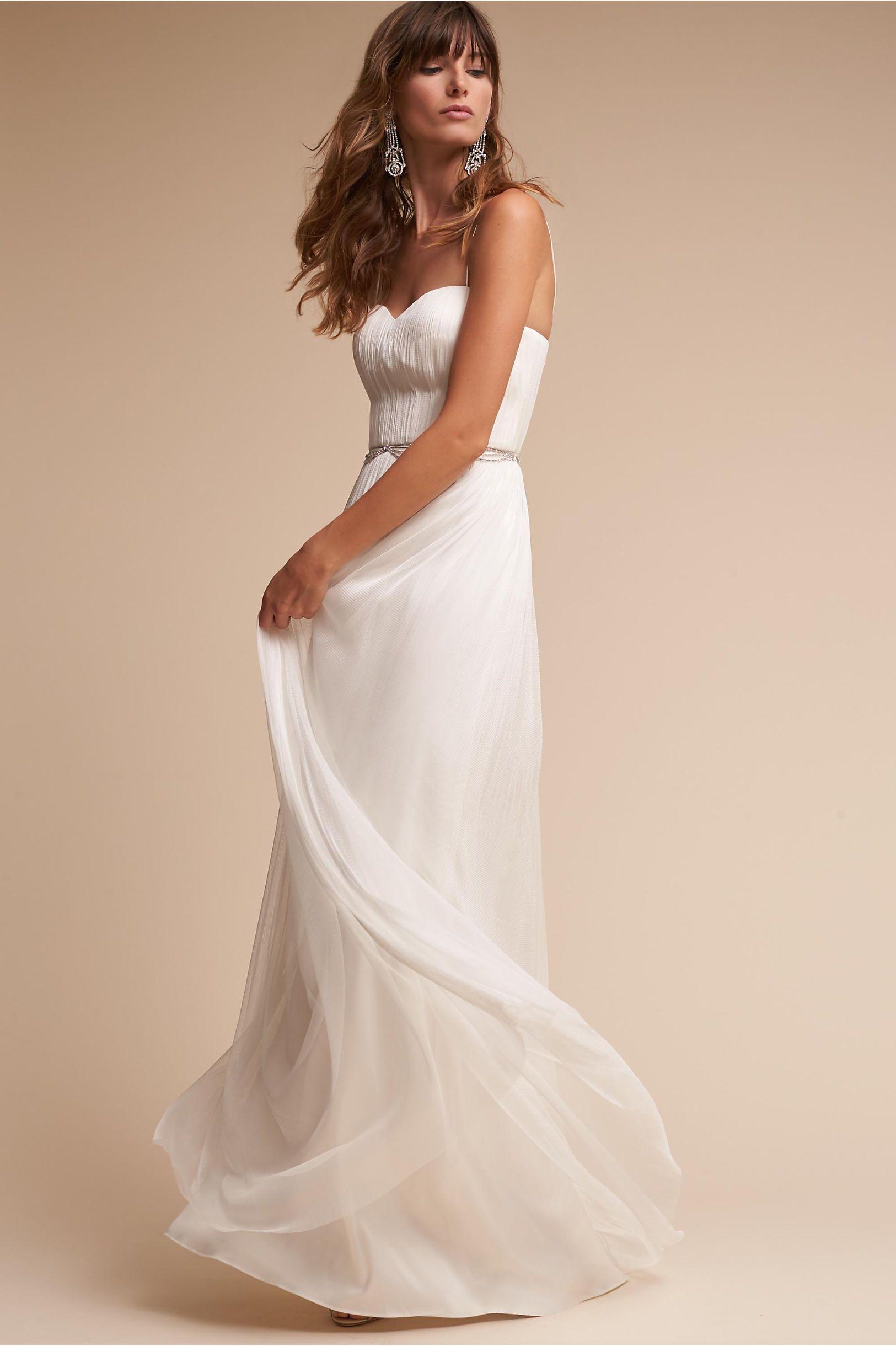 Bhldn snow kyla gown seeley wedding pinterest