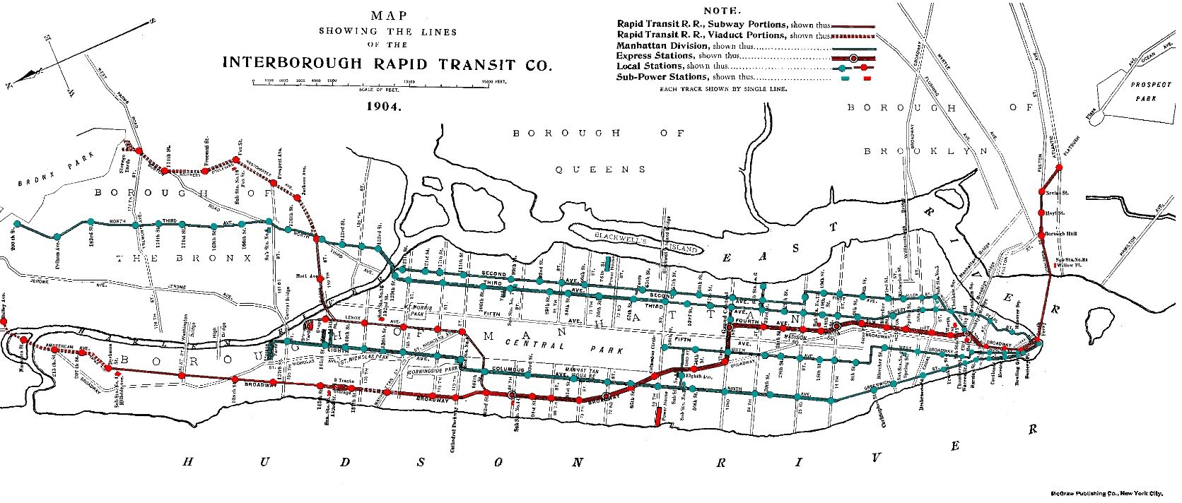 Go Subway Map.Ok Here We Go Nyc Subway Map From 1904 The Unsteady Earth