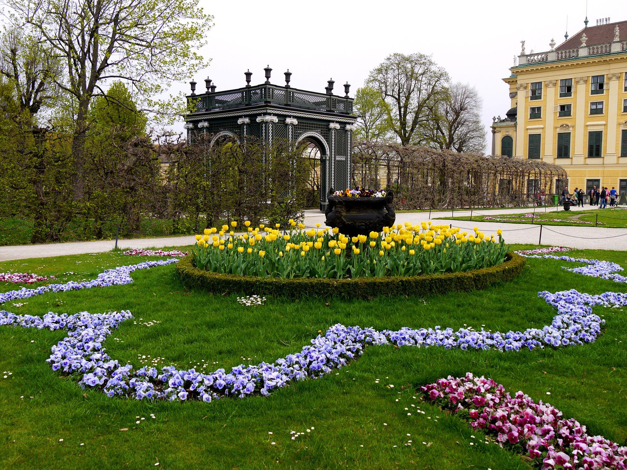 Kammergarten Hietzing Wien Schloss Schonbrunn Schonbrunn Garten