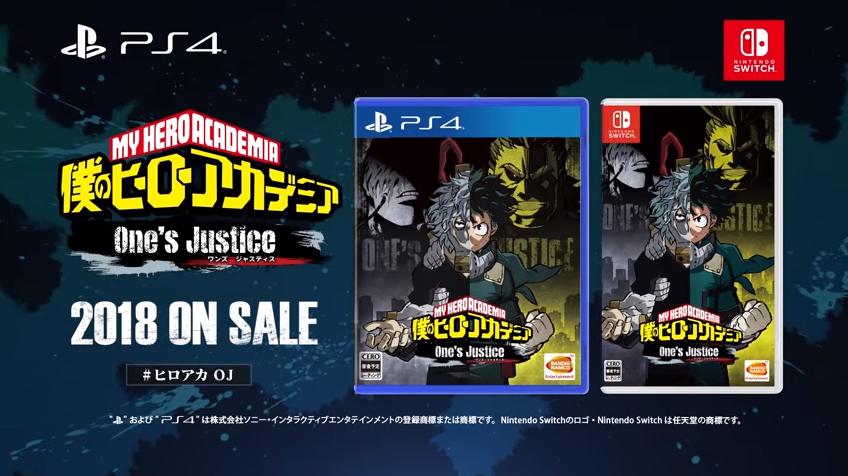 My Hero Academia One's Justice (PS4, Xbox One, Nintendo