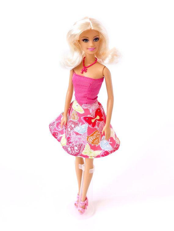 Modern Doll Dress Fashion Doll Clothes by RianasDollCloset on Etsy