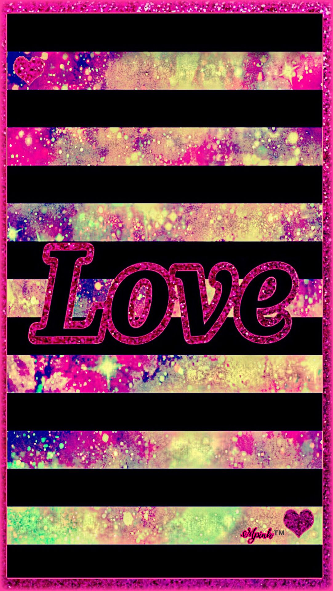 Love Galaxy Wallpaper Androidwallpaper Iphonewallpaper Sparkle Glitter