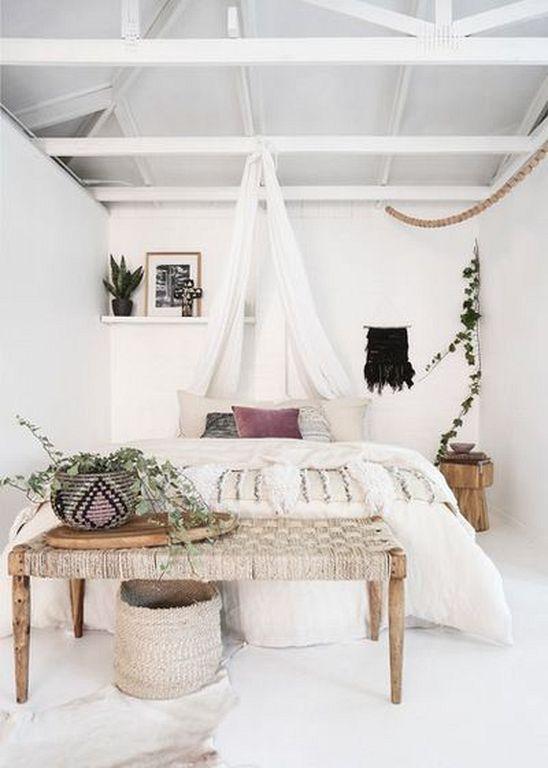 20+ Modern Boho Beach Bedroom Decorating Ideas | Decoration Ideas ...