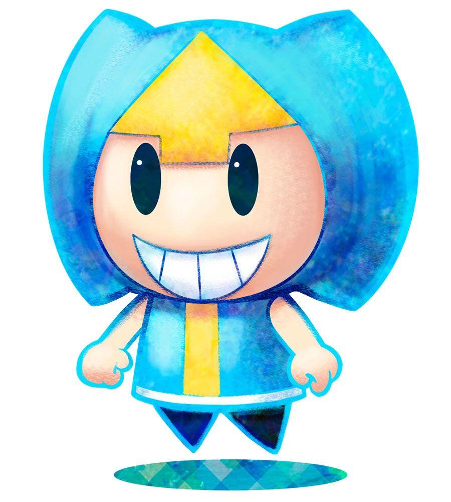 Blue Pi Illo Mario Luigi Dream Team Super Mario Art Mario And Luigi Mario Art