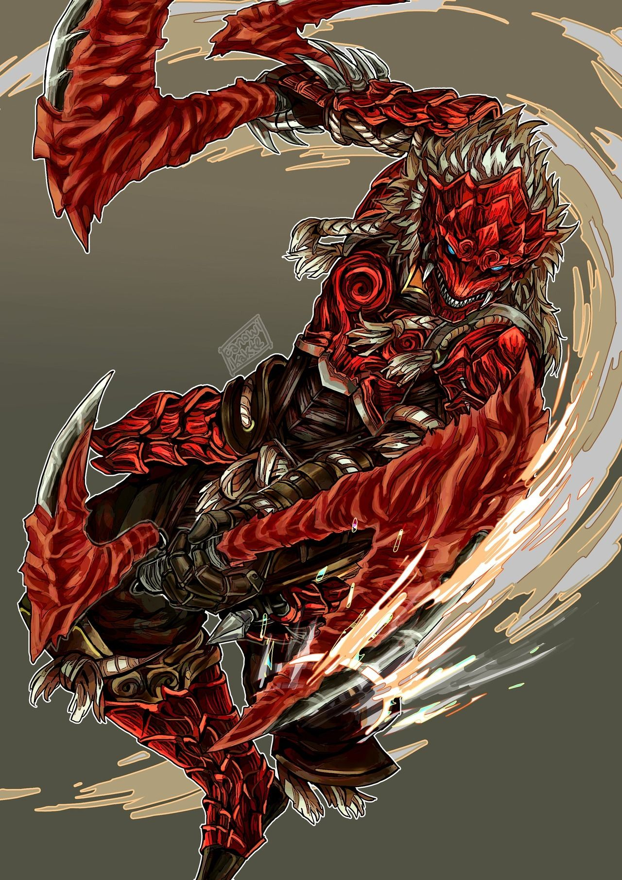 Draw The Hunter In Odogaron Armor Because I Really Love How