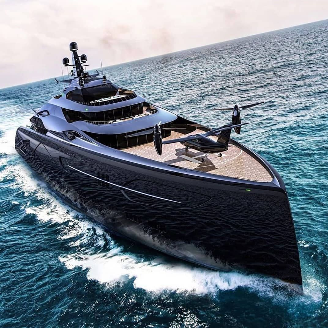 Heavy Yachts On Instagram The 110m Long Centauro A Black Beauty Theamazingyacht Yacht Yachting Yachtlife In 2020 Luxury Yachts Yacht Boats Luxury