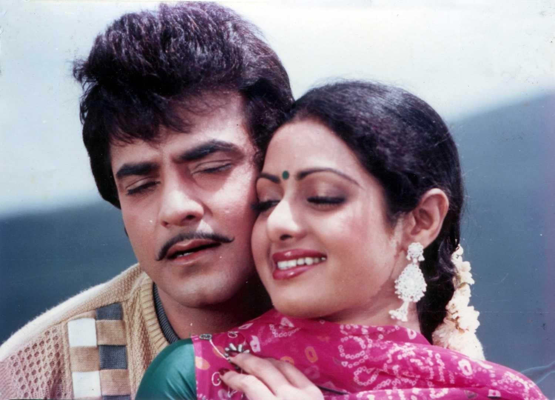 SRIDEVI #FirstFemaleSuperstar #Jeetendra | Bollywood celebrities, Bollywood  stars, Bollywood actress
