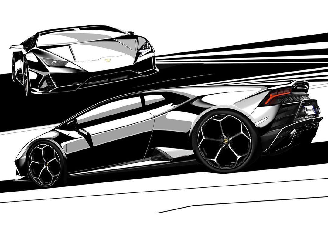 Taping The Lines Of The Lamborghini Huracan Evo Huracanevo